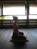cindy meditating